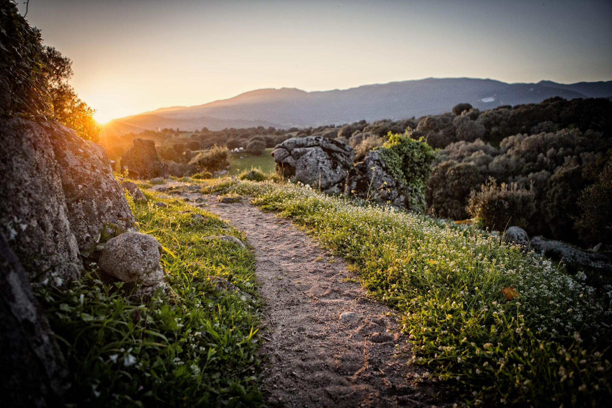 chemin de randonnée dans le Sartenais Valinco Taravo