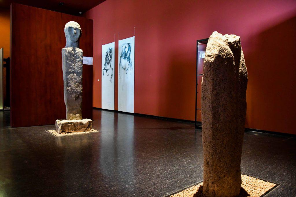 Musée archéologique de Sartène. Collection menhir