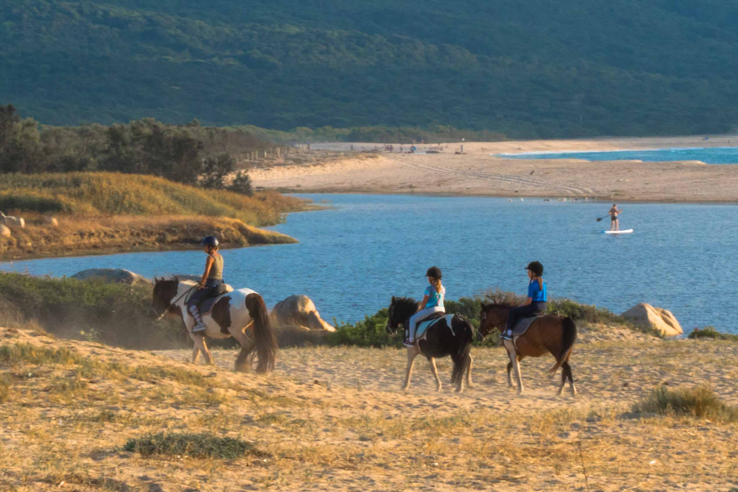 Promenade à cheval dans le Sartenais Valinco Taravo