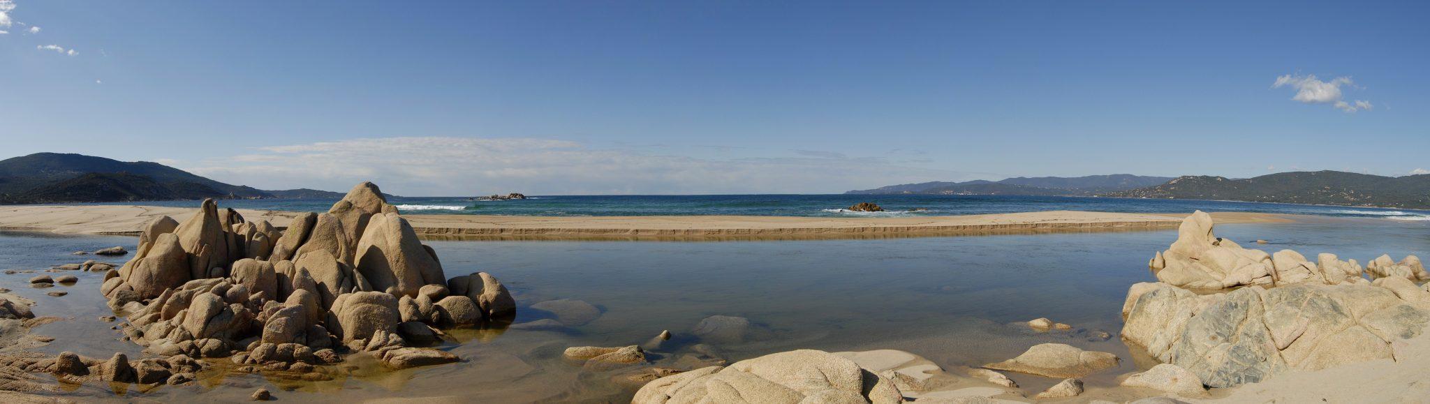 Site naturel de Capu Laurosu à Propriano