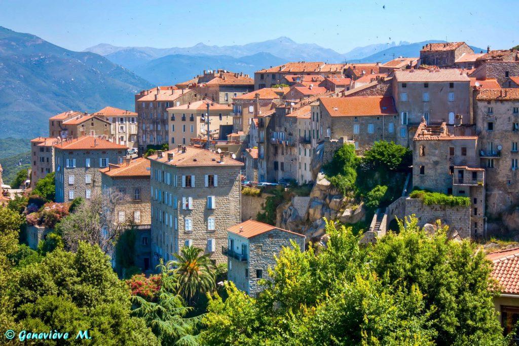 Destination la Corse