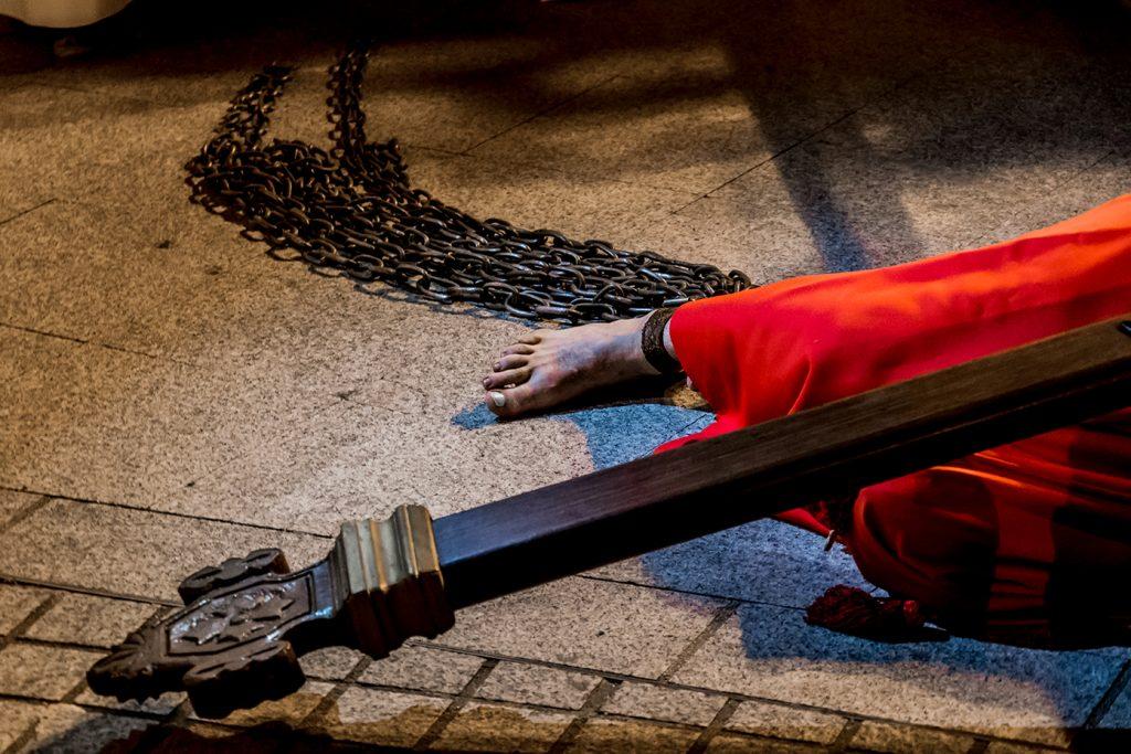Croix et chaînes U catenacciu Sartène. Tradition religieuse corse