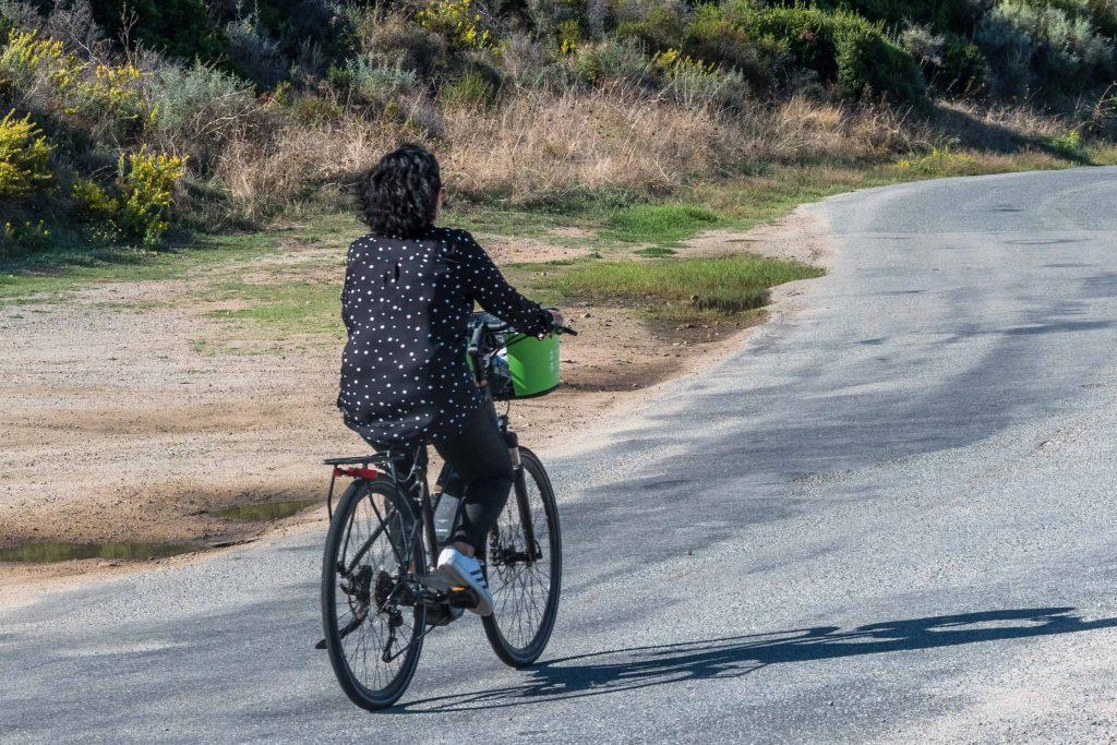 Vélo électrique à Propriano.