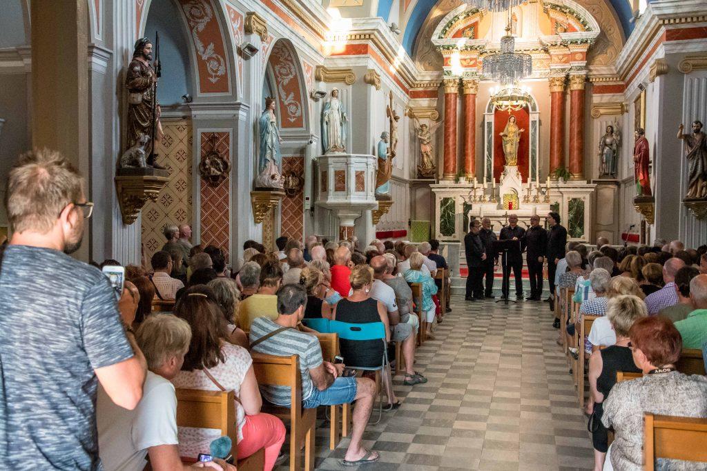 Chants polyphonies église de Propriano Corse du sud