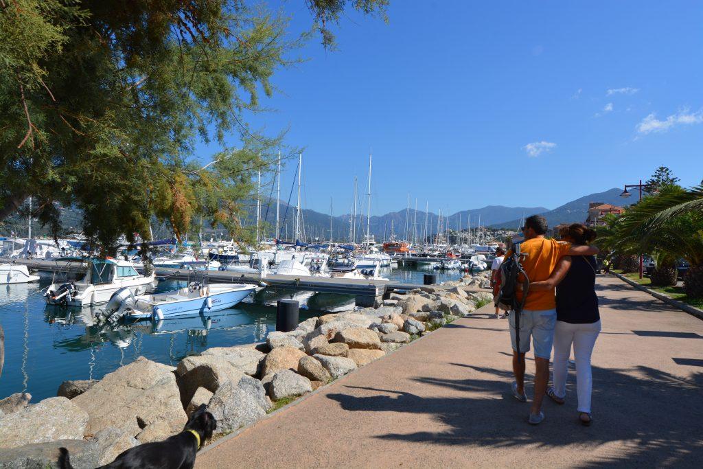 Balade sur le port de Propriano