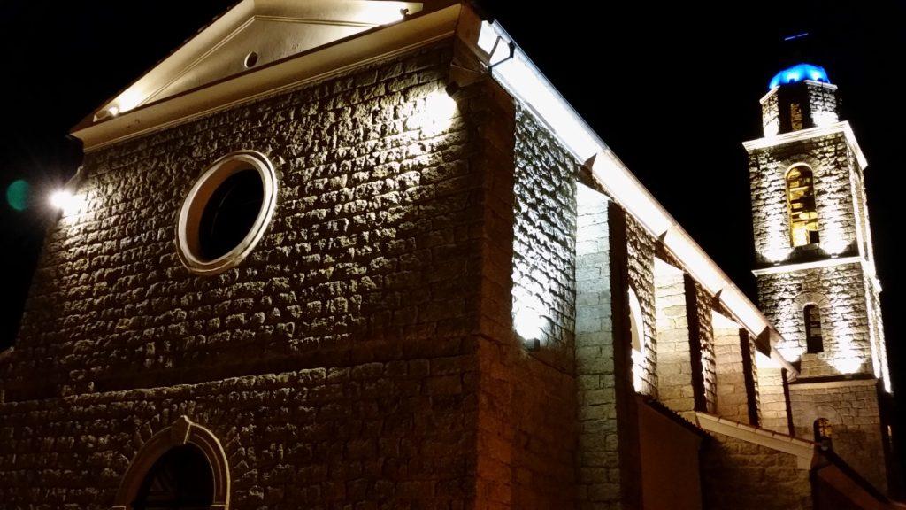 Eglise de la miséricorde à Propriano