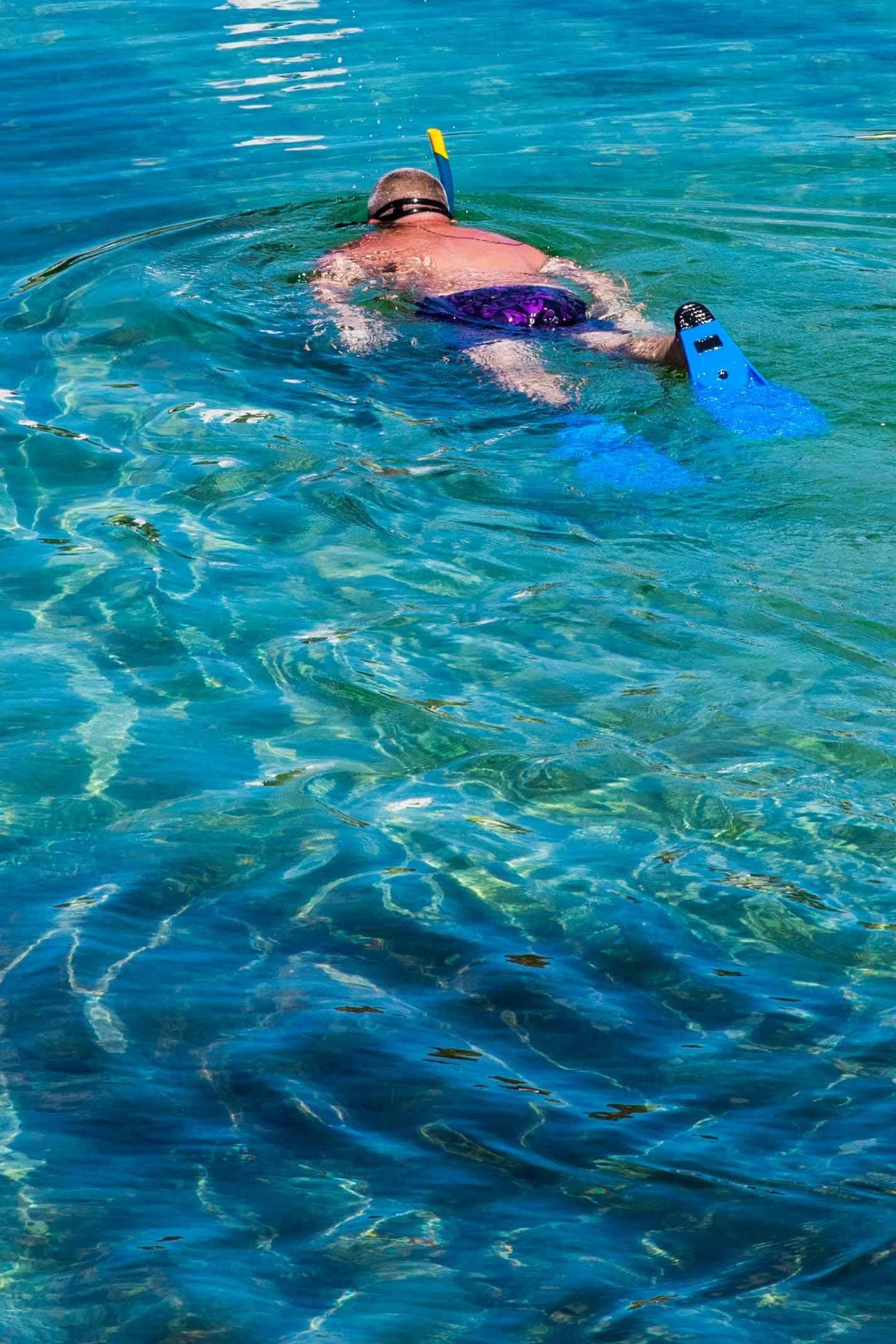 Tizzano eau turquoise en corse du sud