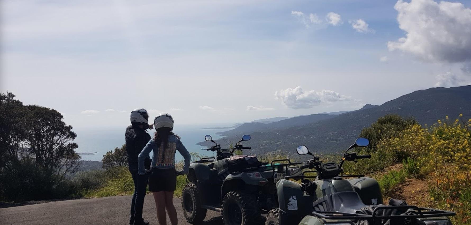 Quad à Propriano dans le Sartenais Valinco Taravo
