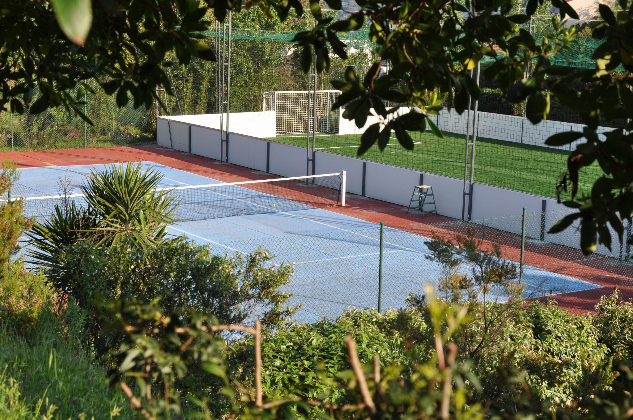 Tennis à Propriano en corse du sud