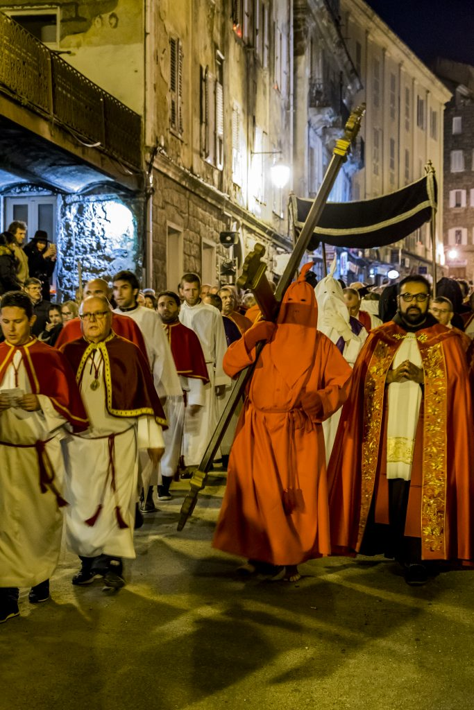 Procession religieuse u Catenacciu Sartène